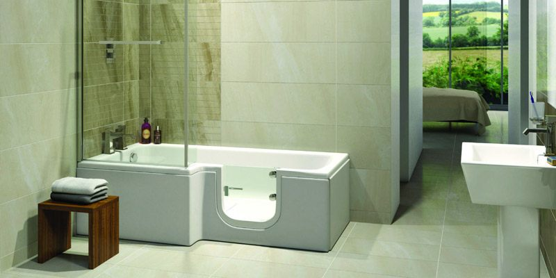 Solarna easy access bath