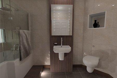 VR Tour Luxury Bathroom