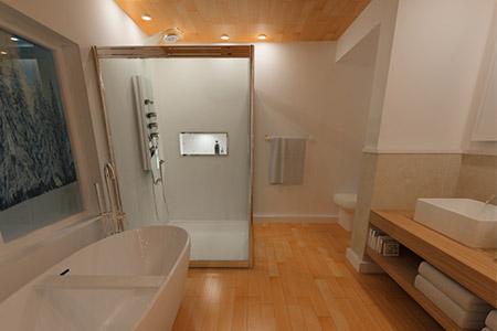 VR Tour of a modern bathroom