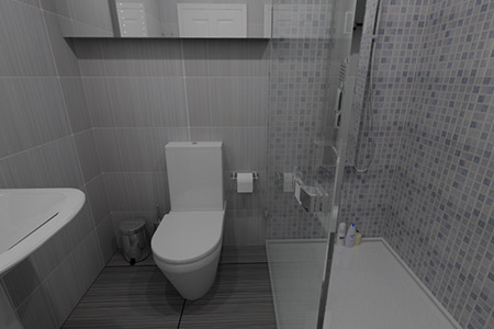 VR Tour Shower Room