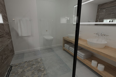 VR Tour of a Wet Room