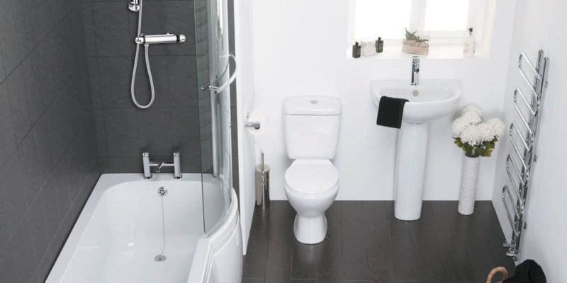 small bathroom installations