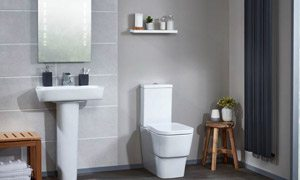 bathroom design inspiration - modern cloakroom