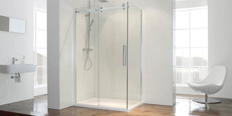 modern shower room fitting
