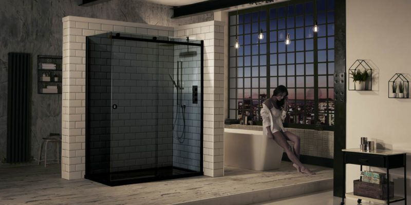 modern shower room design