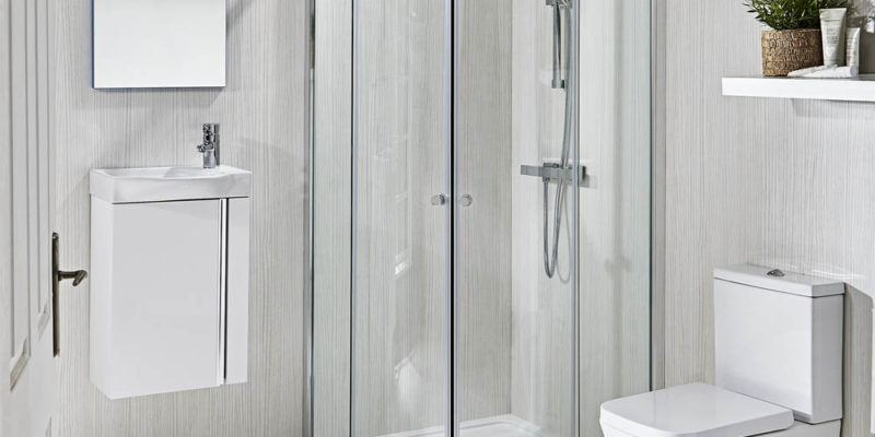 small shower room fitters