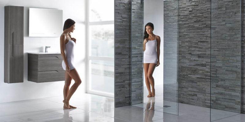 Luxury wet room fitting