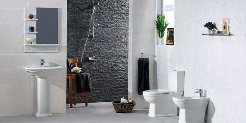 Traditional wet room ideas