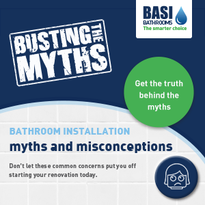 The ultimate bathroom installation mythbuster factsheet