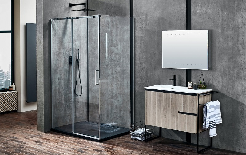 contemporary-bathroom-aquaglass-pola-slider-shower