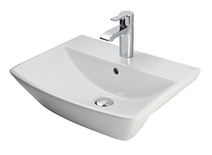 contemporary-semi-recess-basin