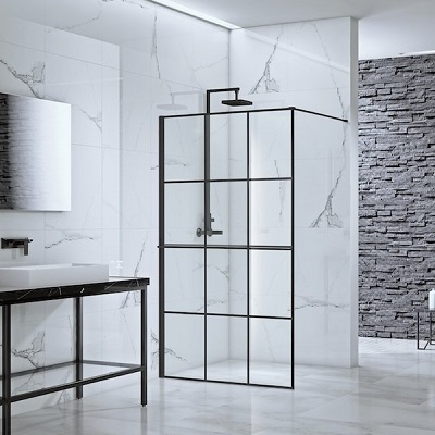 black-framed-shower-enclosure