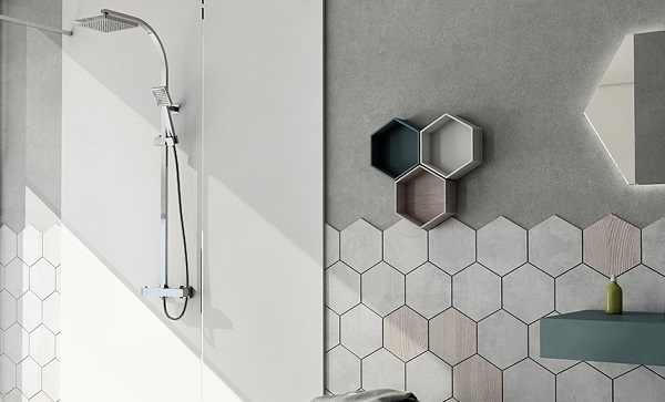 shower-honeycomb-tiles