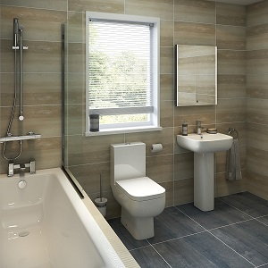 Half tiled vs full tiled bathroom – pros and cons