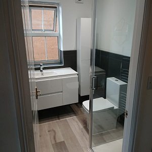 Bathroom before and afters in Yorkshire homes